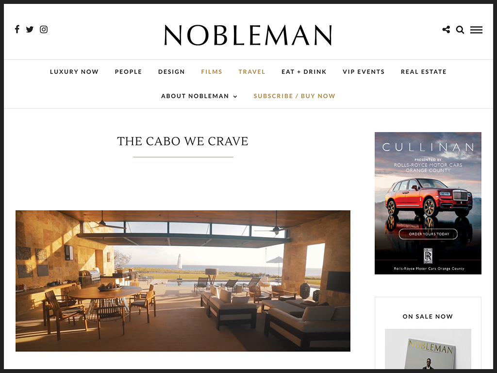 Nobleman Magazine